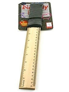 "12"" Naughty Lil' School Girl Ruler Paddle"