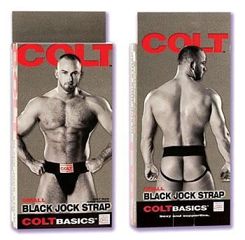 Colt Jock Strap (Small) Black