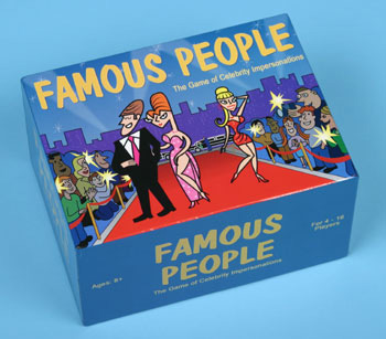 Famous People Board Game