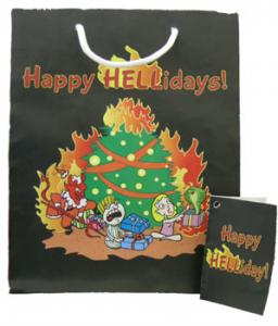 Happy Hellidays! Gift bag