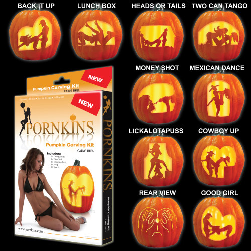 Pornkins Pumpkin carving Kit