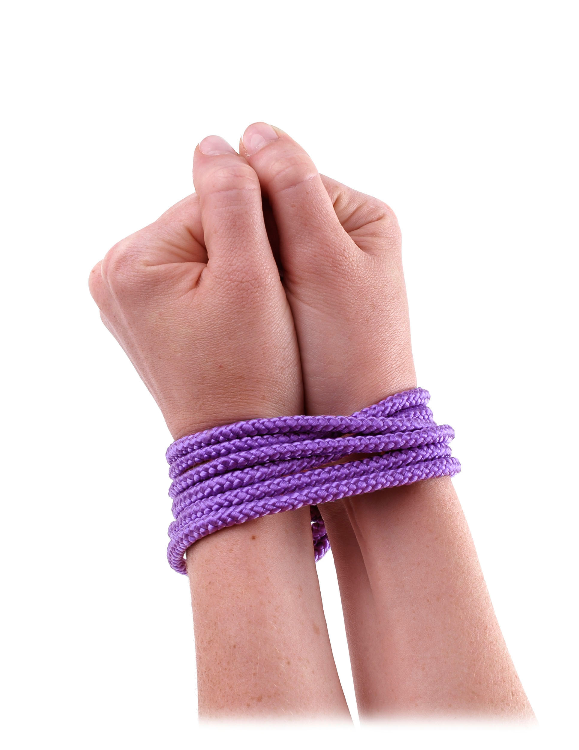 Fetish Fantasy Mini Silk Rope Purple